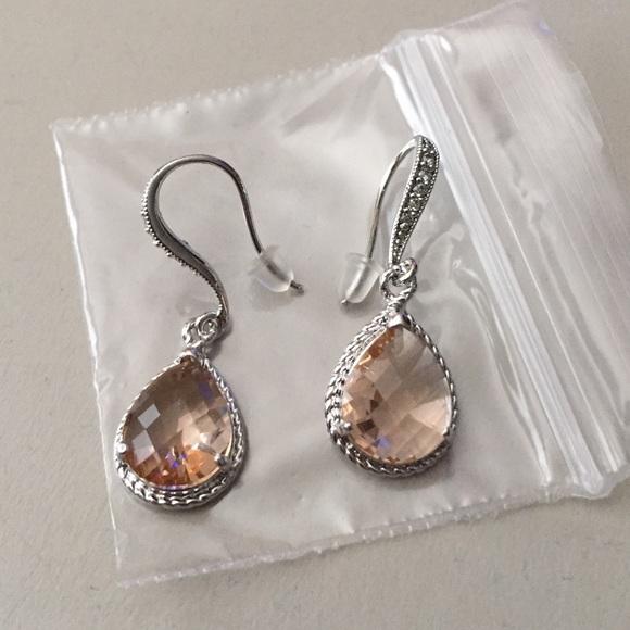 Jewelry - NWOT Silver Drop Earrings